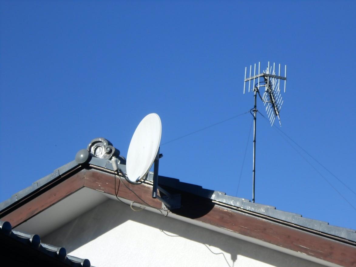 テレビが映らないときの対策としてアンテナを確認してみる