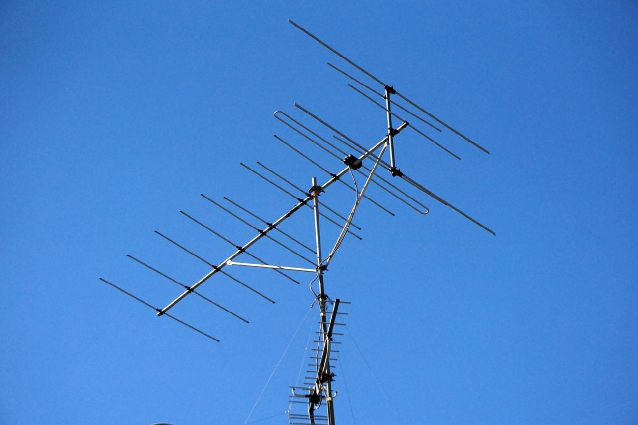 一般的なテレビアンテナの種類イメージ