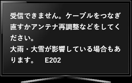 E202エラー